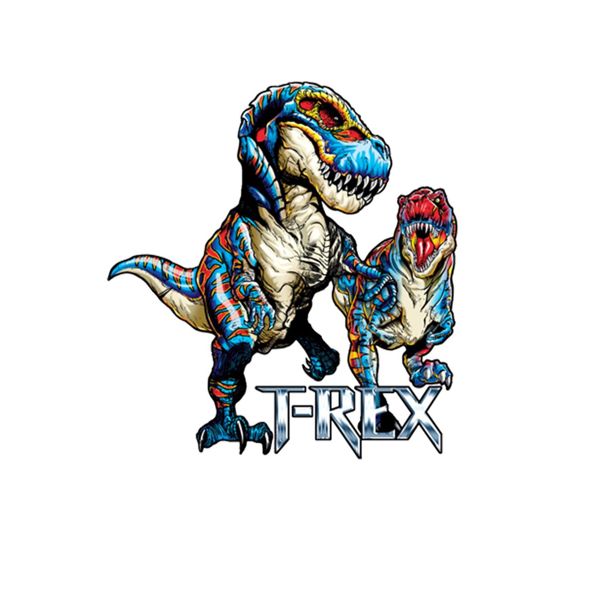 T-Rex Dinosaur Women T-shirt XS-3XL New
