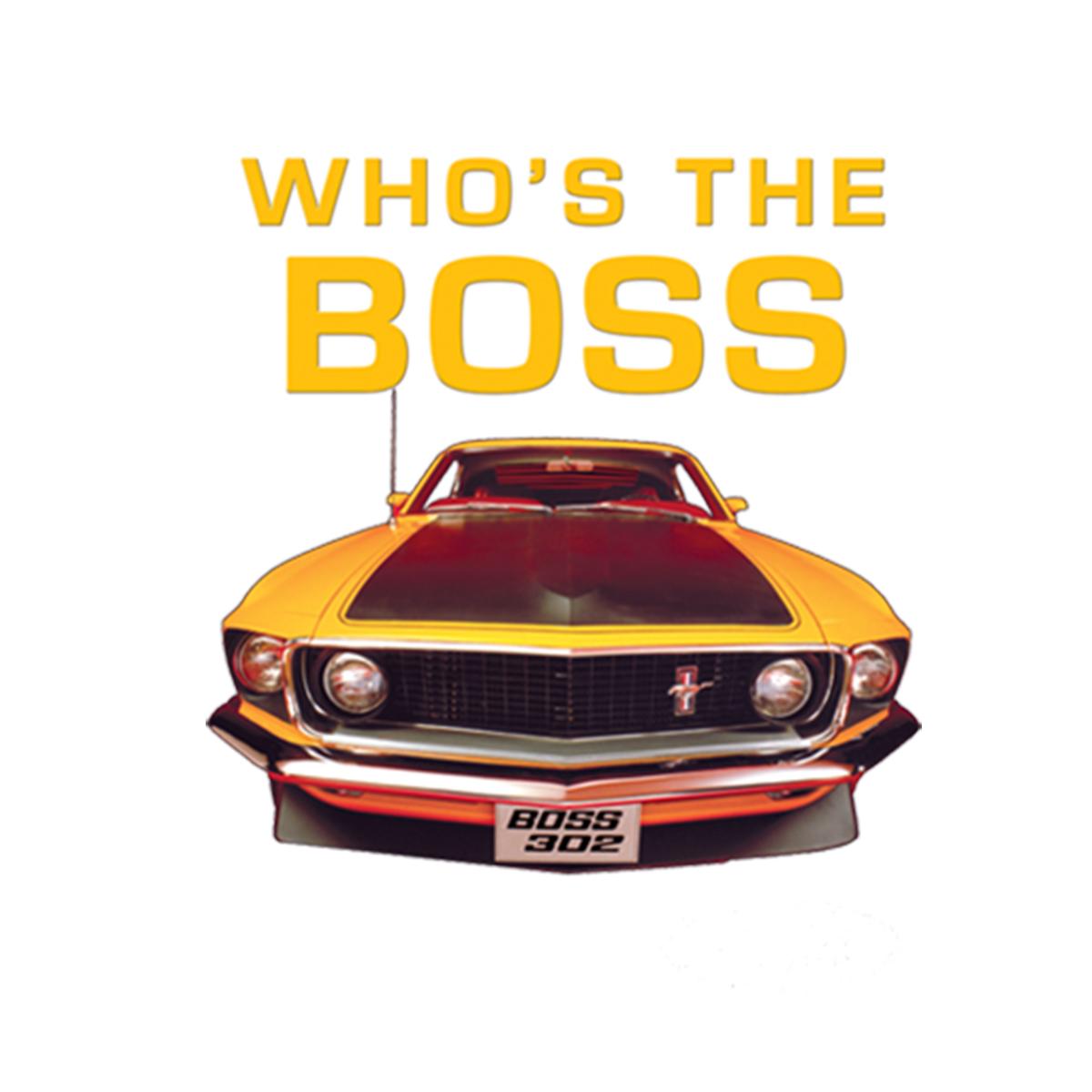 Boss 302 Mustang Old School Men T-shirt XS-5XL