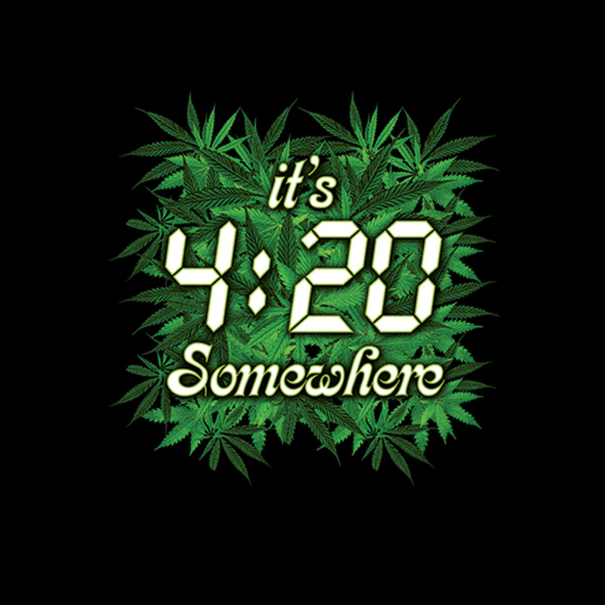 Pot Weed Cannabis Marijuana Mens Sweatshirt S-3XL