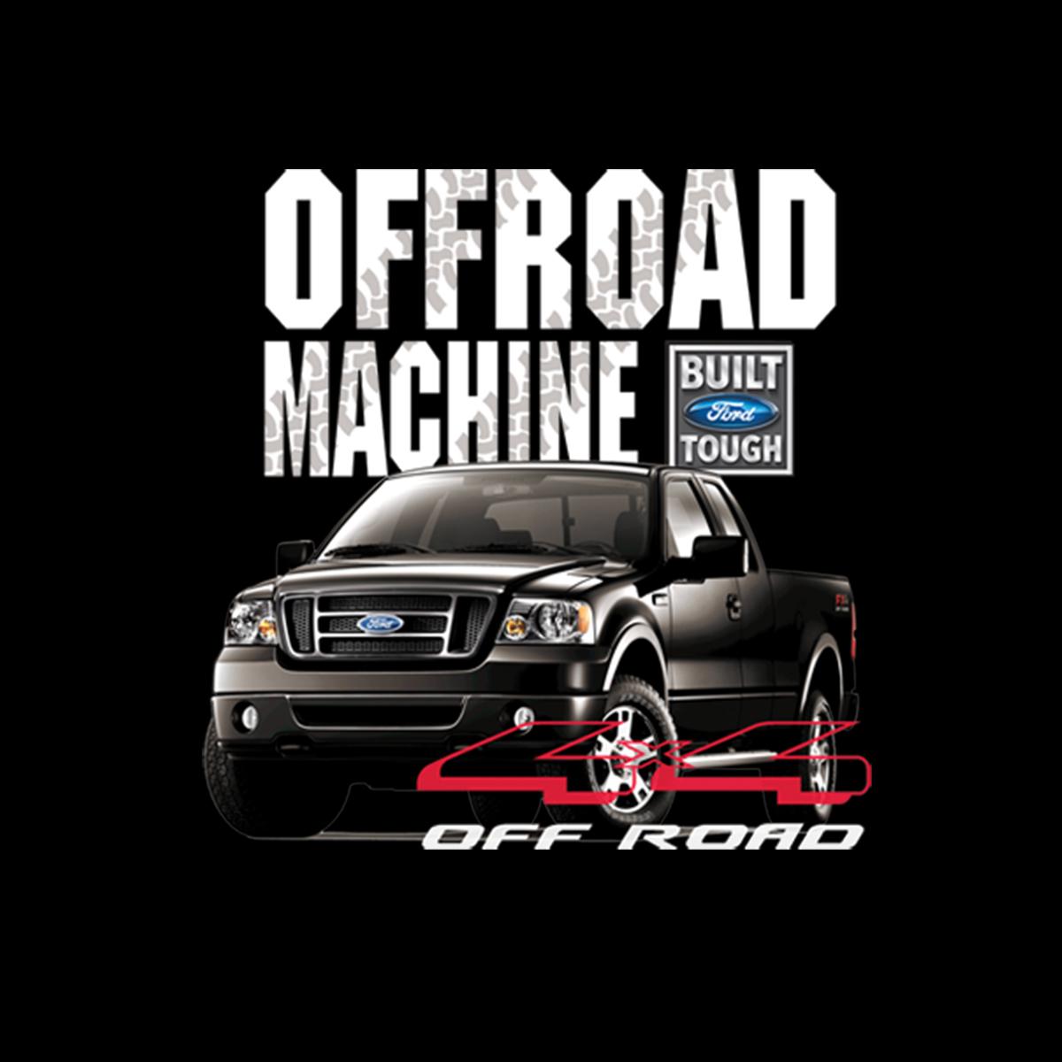 Ford Truck 4x4 Fuori Strada Uomo Felpa S-3XL