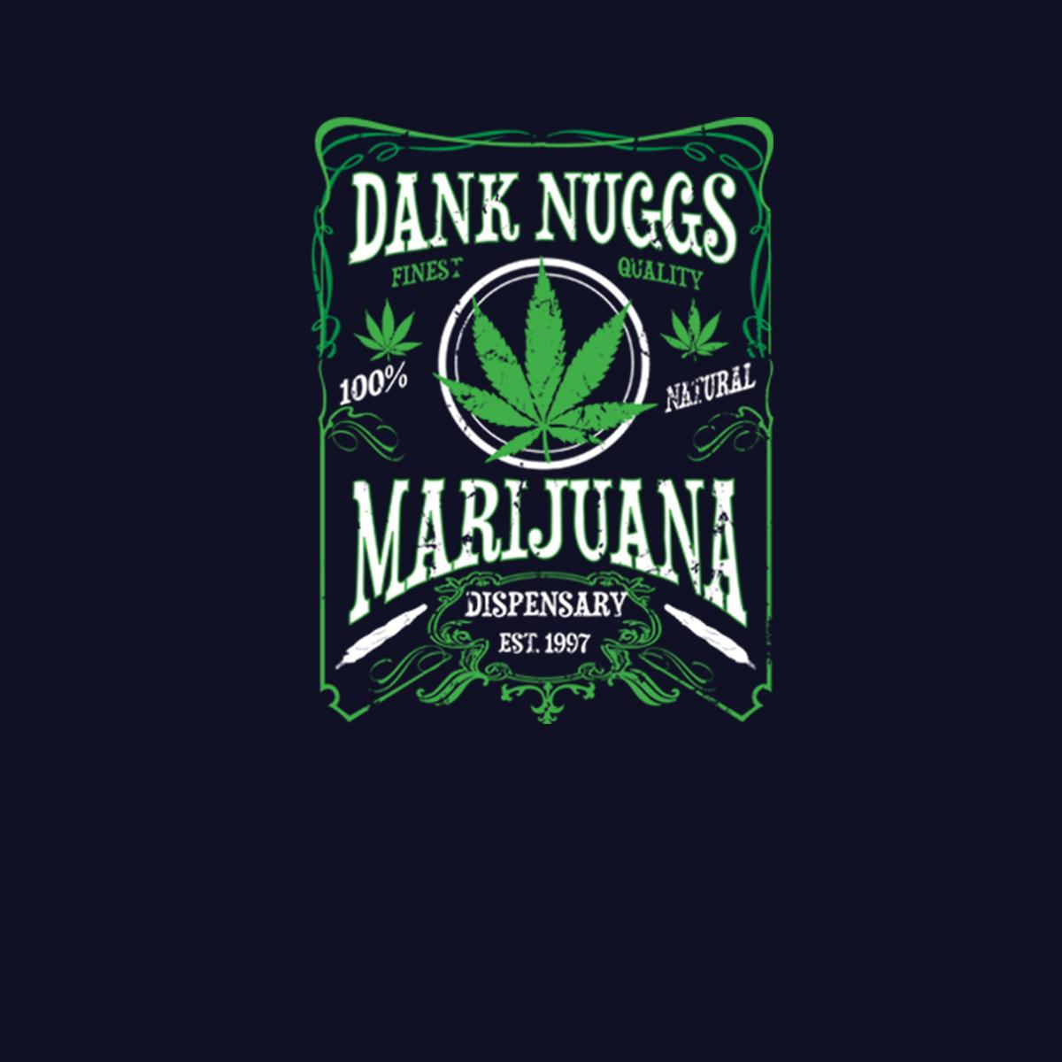 Dank Nugs Marihuana Cannabis Herren T-shirt XS-5XL Neu