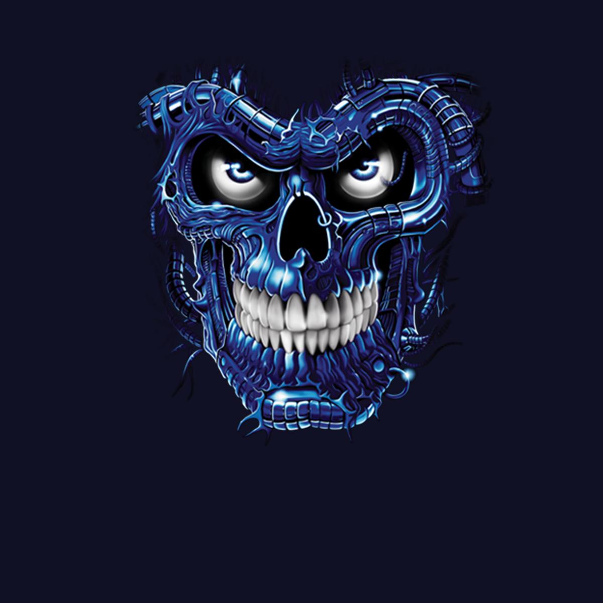Crâne de Terminator Homme T-shirt XS-5XL Nouveauté