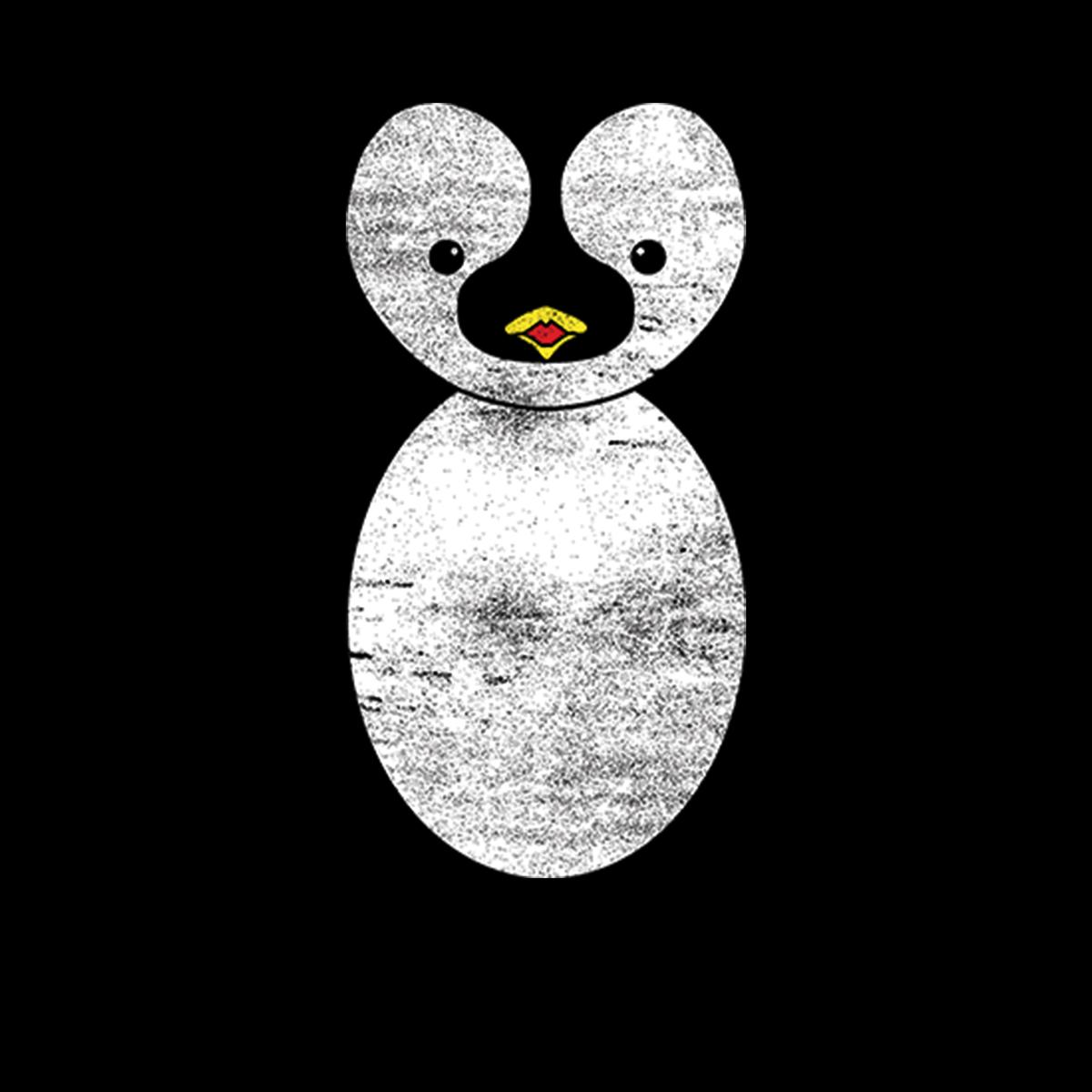 Pinguino-Antartide-La-Neve-Donna-T-shirt-XS-3XL
