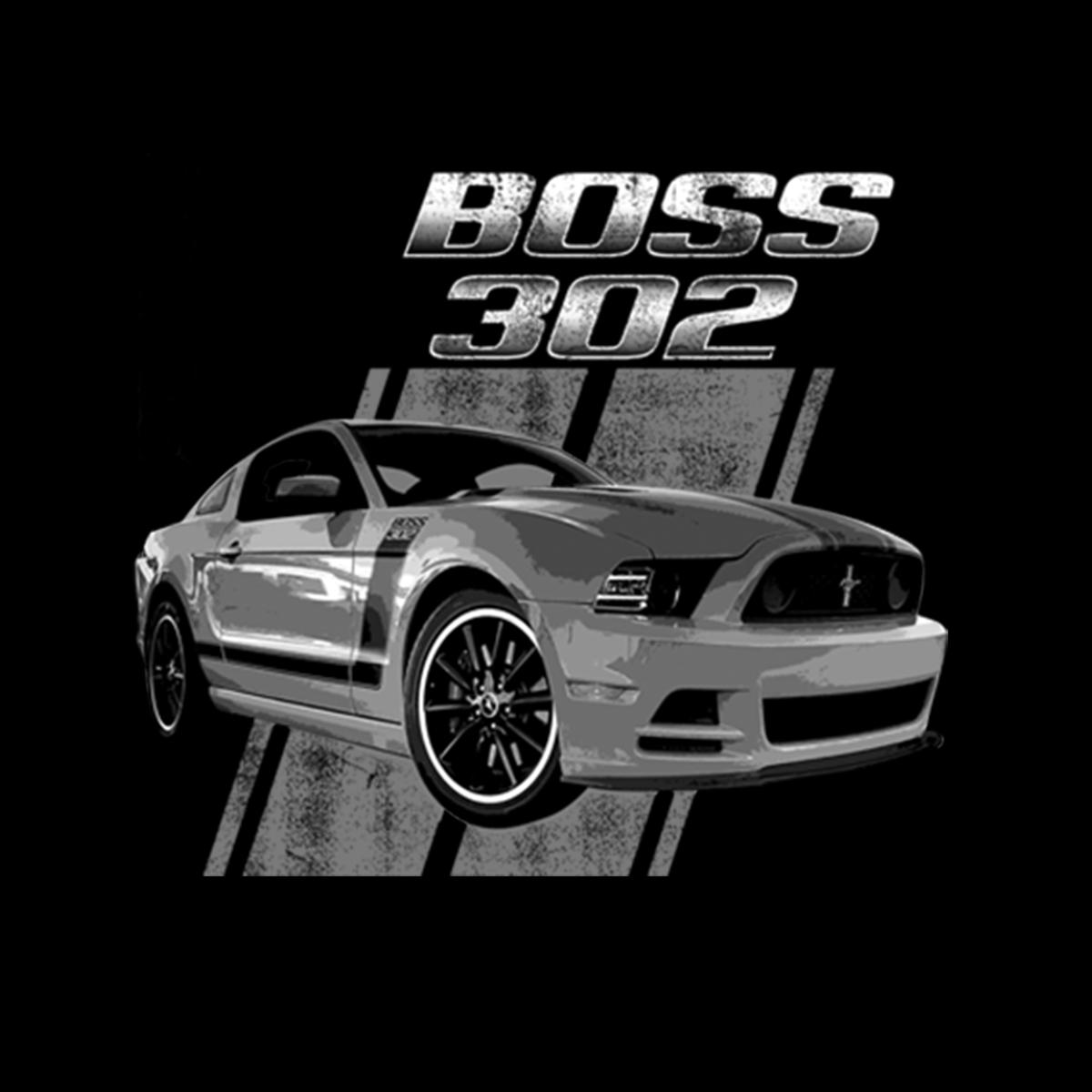 Ford-Mustang-50-Years-Boss-302-Men-T-shirt-XS-5XL thumbnail 3