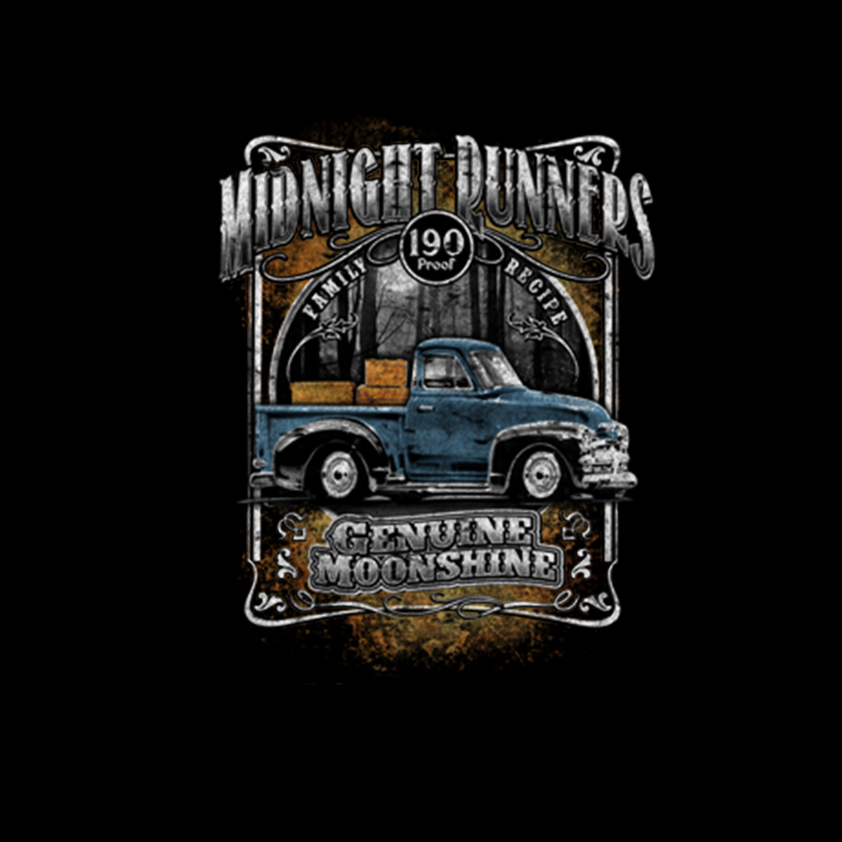thumbnail 3 - Moonshine Midnight Runners Men T-shirt XS-5XL New
