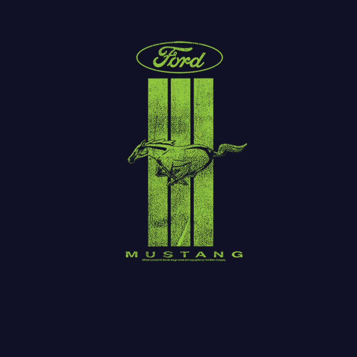 ford mustang green logo mens  shirt xs xl ebay
