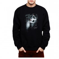 Dead Girl Praying Men Sweatshirt S-3XL New