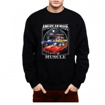 Chrysler Muscle Car Gas Station Mens Sweatshirt S-3XL