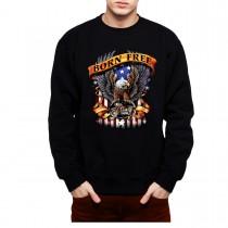 Born Free Eagle America Mens Sweatshirt S-3XL