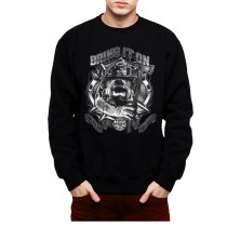 Bulldog Fireman Axe Mens Sweatshirt S-3XL