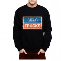 Ford Truck Logo Classic Mens Sweatshirt S-3XL