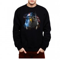 American Eagle Freedom Fighter Mens Sweatshirt S-3XL