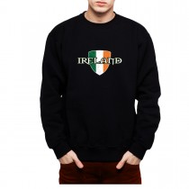 Ireland Flag Proud and Irish Mens Sweatshirt S-3XL