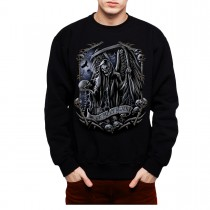 Grim Reaper Death Mens Sweatshirt S-3XL