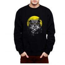Owl Night Bird Animals Mens Sweatshirt S-3XL