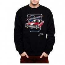 Plymouth Roadrunner Classic Car Men Sweatshirt S-3XL