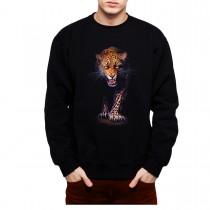 Leopard Panthera Mens Sweatshirt S-3XL
