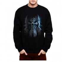 Skull Reaper Pray Horror Mens Sweatshirt S-3XL