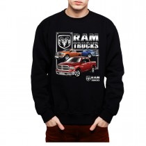 Chrysler Ram Trucks Mens Sweatshirt S-3XL