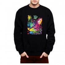 Cat Crown Men Sweatshirt S-3XL