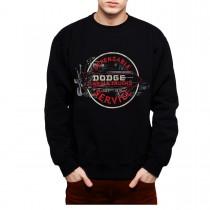 Dodge Car Service Mens Sweatshirt S-3XL
