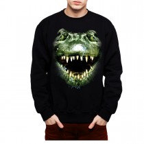 Alligator Face Men Sweatshirt S-3XL New
