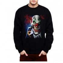 Joker Clown Face Mens Sweatshirt S-3XL