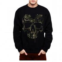Soldier Skull Military Mens Sweatshirt S-3XL