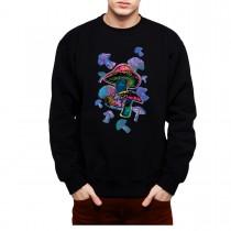 Magic Mushrooms Mens Sweatshirt S-3XL