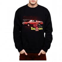 Dodge Demon Muscle Car Mens Sweatshirt S-3XL