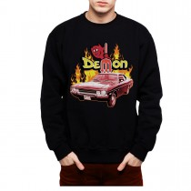 Dodge Demon Classic Car Mens Sweatshirt S-3XL
