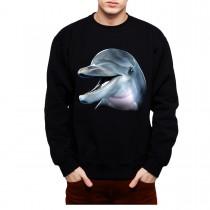 Dolphin Mens Sweatshirt S-3XL