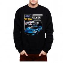 Ford GT Supercar Mens Sweatshirt S-3XL