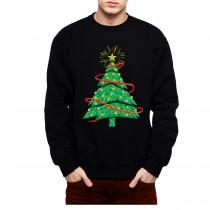 Christmas Tree Star of Bethlehem Mens Sweatshirt S-3XL