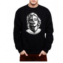 Marilyn Monroe Zombie Men Sweatshirt S-3XL