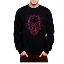 High Voltage Skull Men Sweatshirt S-3XL