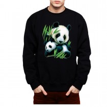 Panda Cub Mens Sweatshirt S-3XL