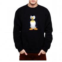 Penguin Animals Funny Men Sweatshirt S-3XL