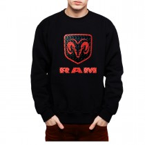 RAM Logo Mens Sweatshirt S-3XL