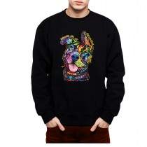 Pitbull Breed Dog Mens Sweatshirt S-3XL