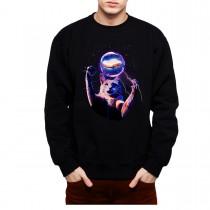 Cat Sphere PBJ Sandwich Mens Sweatshirt S-3XL