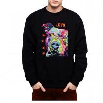 Pitbull Dog Men Sweatshirt S-3XL