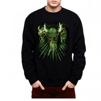 Vikings Skulls Mens Sweatshirt S-3XL