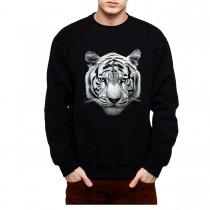 White Tiger Bengal Mens Sweatshirt S-3XL