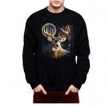 Whitetail Deer Hunting Mens Sweatshirt S-3XL
