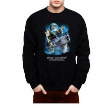 Wolves Winter Howl Mens Sweatshirt S-3XL