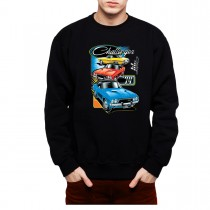 Dodge Challenger 1974 Classic Men Sweatshirt S-3XL New