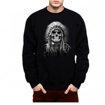 Tribal Chief American Indian Men Sweatshirt S-3XL New