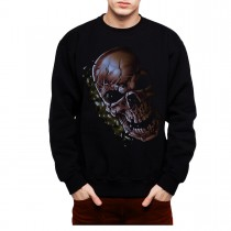 Cracked Skull Horror Men Sweatshirt S-3XL New