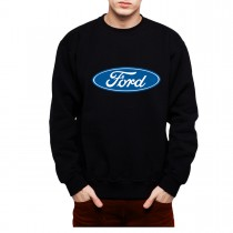 Ford Logo Classic Men Sweatshirt S-3XL New